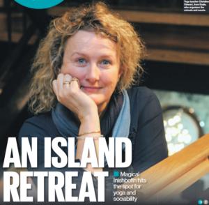 Christine Stewart talks about Inishbofin yoga
