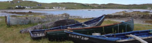 Boats at Inishbofin