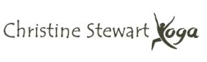 Logo Christine Stewart yoga